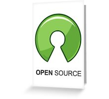 Open Source Greeting Card