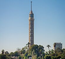 Cairo TV Tower by Sue Martin