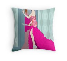 Fashion Fatality Throw Pillow
