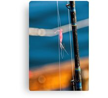 Goin' Fishin' Canvas Print