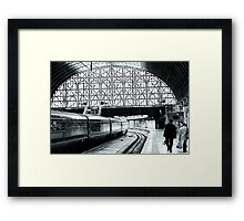 Paddington Station, London,England Framed Print