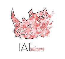 FatUnicorn Photographic Print