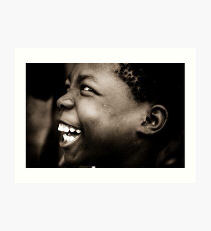 Silly Girl, Malawi Art Print