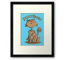 Purrfect Mommy Cat and Kittens Framed Print