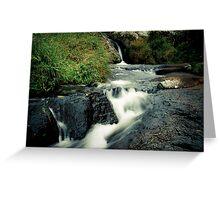 Waterfall, Zomba Plateau, Malawi Greeting Card
