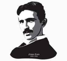 Nikola Tesla by CuriousCart