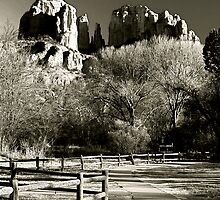 Cathedral Rock, Arizona by Jeff Blanchard