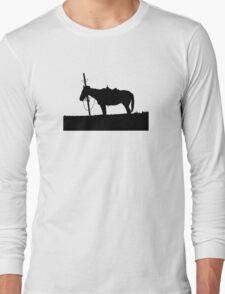 Lonely Horse Long Sleeve T-Shirt