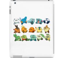 Pokemon Starters Kirby iPad Case/Skin