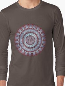 Pastel Shades Symmetries Long Sleeve T-Shirt