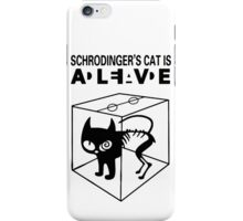 Schrodinger's Cat Science Big Bang Theory iPhone Case/Skin