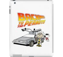 Back to the Future Peanuts iPad Case/Skin