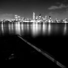 Perth (B/W) by Larrikin  Photography