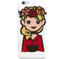 Bedelia flower crown iPhone Case/Skin