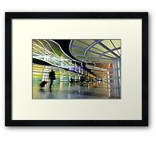 The People Mover Corridor Framed Print