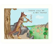 There will be a new people Art Print