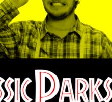 Jurassic Parks & Rec Sticker
