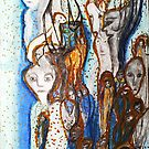 Faces in a Crowd by Carol Berliner