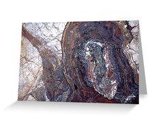 Copper Ore, Bisbee, USA Greeting Card