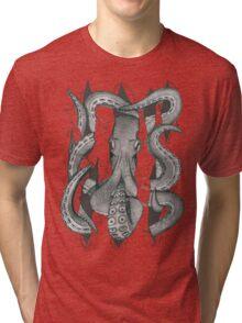 Der Krake Tri-blend T-Shirt