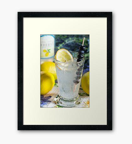 Lemonade Framed Print