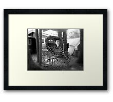 The Buggy Framed Print