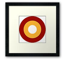Qatar Air Force - Roundel Framed Print