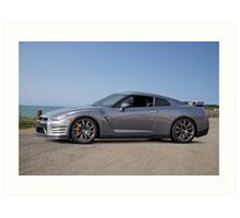 2014 Nissan GTR Sports Coupe Art Print