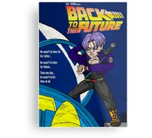 Back From The Future Metal Print