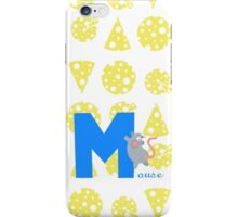 m for mouse iPhone Case/Skin