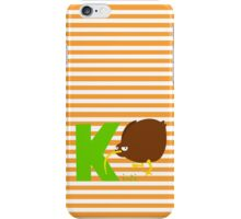 k for kiwi iPhone Case/Skin