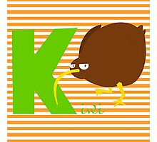 k for kiwi Photographic Print