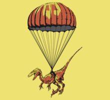 Parachuting Raptor!