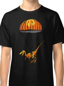 Parachuting Raptor Classic T-Shirt