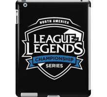 North America League of Legends Championship Series iPad Case/Skin