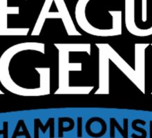 North America League of Legends Championship Series Sticker