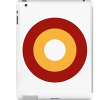 Qatar Air Force - Roundel iPad Case/Skin