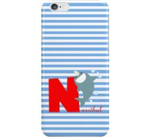 n for narwhal iPhone Case/Skin