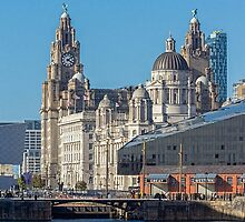 The Liverpool waterfront by Beverley Goodwin