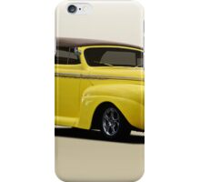 1941 Ford Custom Convertible Coupe iPhone Case/Skin
