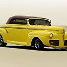 1941 Ford Custom Convertible Coupe by DaveKoontz