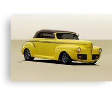 1941 Ford Custom Convertible Coupe Canvas Print