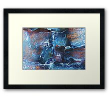 Tree Bark Abstracted Framed Print