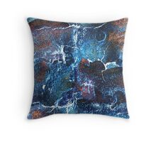 Tree Bark Abstracted Throw Pillow