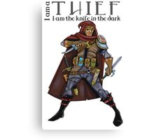 Dungeons and Dragons - the thief Canvas Print