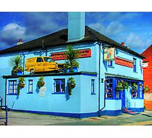 "The Duke Of York, Windsor - ""Del Boy"" Solves the Parking Problem !! Photographic Print"