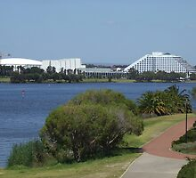 Burswood Entertainment Complex. Clairsebrook Cove. East Perth. East Perth. by m004