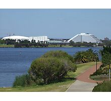 Burswood Entertainment Complex. Clairsebrook Cove. East Perth. East Perth. Photographic Print