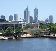 Perth Skyline. East Perth.  by m004