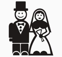 Wedding couple Kids Tee